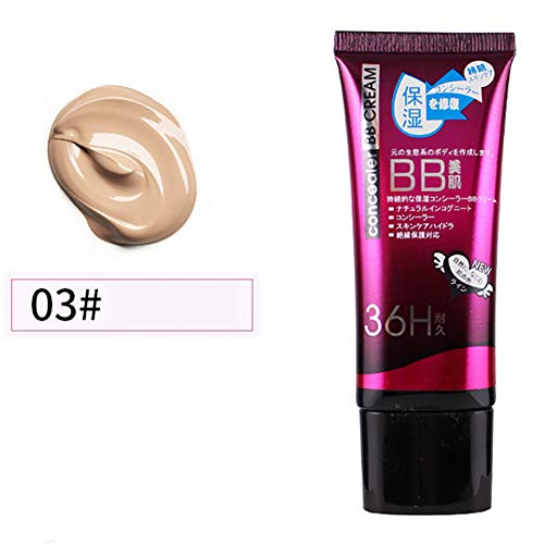 Xiton 1PC Natural BB Cream Ligero Base de maquillaje Hidrata