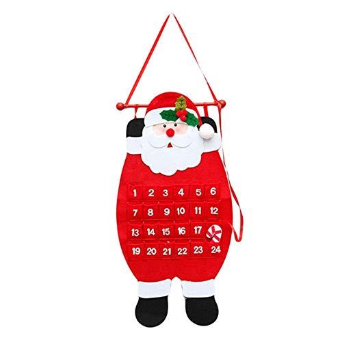 Fgolphd Feliz Navidad Decoración for el hogar de Santa Claus...