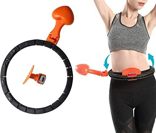 BAITENG Hula Hoops Aros Deportivos Yoga Ejercitador Físico En Casa Hula Inteligente Círculo Ajustable Cintura Anillo De Entrenamiento Vientre Entrenador Abdominal Pérdida De Peso