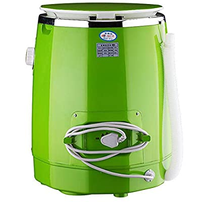 QGXYJ Portable Lazy Washing Machine, Folding Portable Mini Student Dormitory Washing Machine, Home Travel Socks Underwear Ultrasonic Turbine Cleaning Machine
