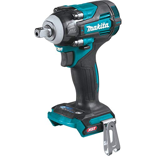 Makita GWT05Z 40V Max Brushless Lithium-Ion 1/2 in. Cordless 4-Speed Impact Wrench with Detent Anvil (Tool Only)