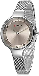 Curren Casual Watch For Women Analog Stainless Steel - 9008