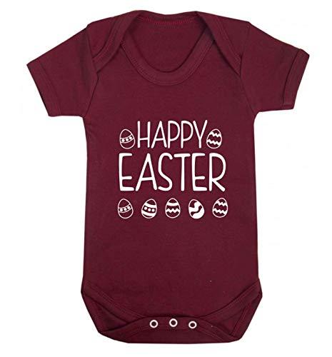 Flox Creative Gilet pour bébé Happy Easter - Rouge - M