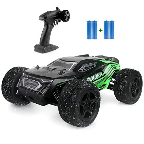 Rc Car, 1:16 Scale 2.4G 4WD Remote Control Off Road Truck with 2 Rechargeable Batteries, 36km/h High-Speed Off-Road Bigfoot Truck RC Car G172, RC Electronic Monster Hobby Truck Racing car for Kids