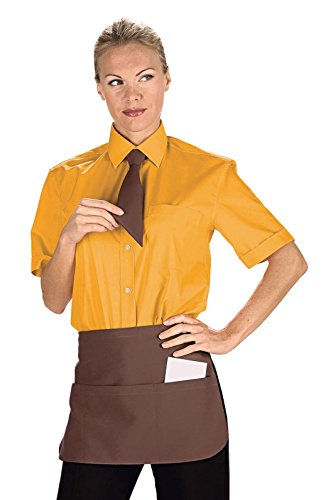 Isacco Tablier Pub Cacao, Cacao, 100% polyester