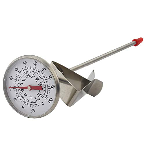 Dairy Thermometer - Ideal for Milk Cheese Yoghurt Coffee Making 165mm Probe Length