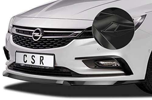 CSR-Automotive Cup-Spoilerlippe mit ABE Kompatibel mit/Ersatz für Opel Astra K CSL419-G