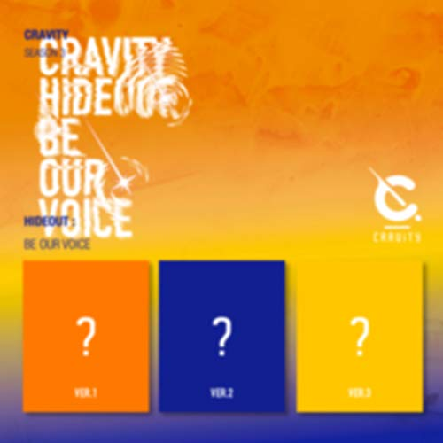 Starship Entertainment CRAVITY - SEASON3. [Hideout: BE Our Voice] Album+Pre-Order Benefit+Folded Poster+Extra Photocards Set (1+2+3 ver. Set)