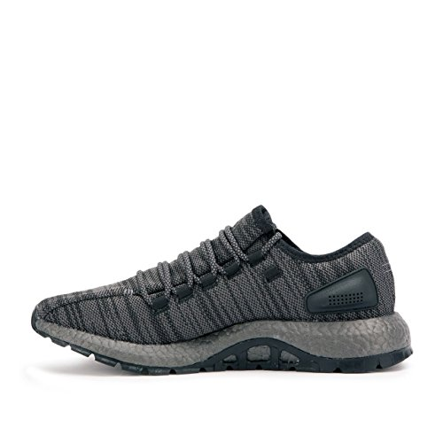 adidas Men's Pureboost ATR Running Shoe, Black/DGH Solid Trace Grey/Metallic, 4.5 M US