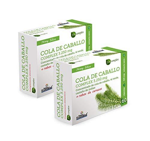 Cola de caballo Complex 3.250 mg, 60 cápsulas, con té verde, rabos...
