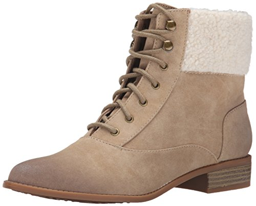 BC Footwear Damen Stiefel mit Kapuze, (Sand), 42 EU