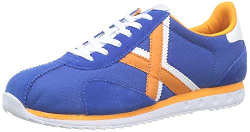 Munich Unisex-Erwachsene Sapporo Sneakers, Blau (Azul/Naranja 49), 45 EU