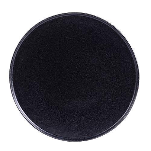 - assiette à dessert 22 cm cila noir (lot de 6)