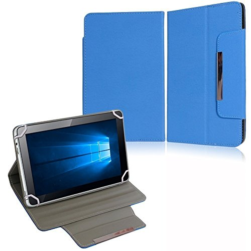 NAUC Tasche Hülle Schutzhülle für Medion Lifetab P8502 Hülle Cover Schutz Stand, Farben:Blau