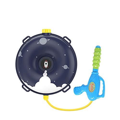 Binhe Mochila para pistola de agua para niños, juguete de agua con tanque Lady Bug, juguete de verano para piscina, playa, juguete de agua para niños, arco iris y nube (A)