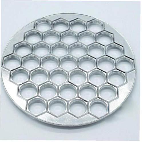 Angoter 37 Löcher Mehlkloß Form Werkzeuge Dumplings Maker Aluminium Ravioli Mold Pelmeni Dumplings Werkzeuge Dumpling Pastry Make