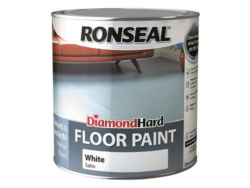Ronseal DHFPWH25L 2.5L Diamond Hard Floor Paint - Wh