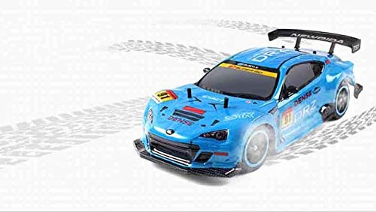 Generic RC Car 1 10 High Speed Racing Car for Nissan GTR Championship 2.4G 4WD Radio Control Sport Drift Racing Electronic Toy bluee