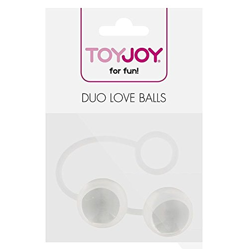 TOYJOY Duo Love CHINEKUGELN TRANSPARENT
