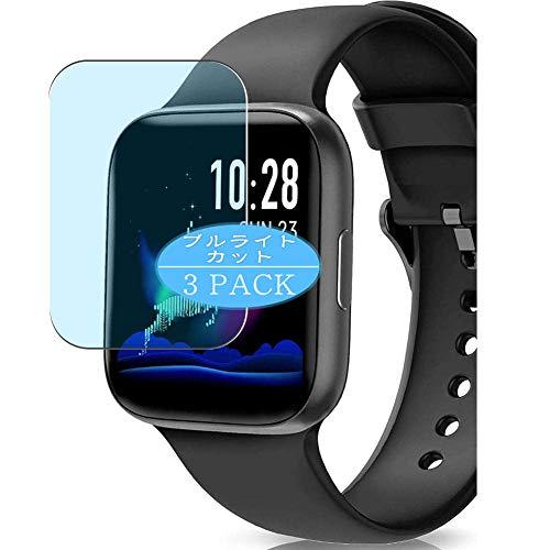 """VacFun 3 Piezas Filtro Luz Azul Protector de Pantalla, compatible con BANLVS 1.54"""" smartwatch Smart Watch, Screen Protector Película Protectora(Not Cristal Templado) NEW Version"""