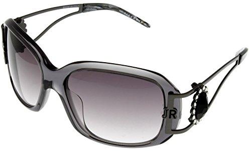 John Richmond Special Edition Sunglasses Womens JR650 02 Square Transparent Grey