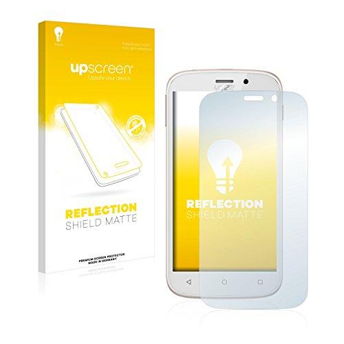upscreen Entspiegelungs-Schutzfolie kompatibel mit Yezz Andy 5M VR – Anti-Reflex Bildschirmschutz-Folie Matt