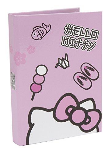 Hello Kitty Diario Scuola 10 Mesi, Formato Standard, 320 Pagine, Rosa, Collezione 2018/19