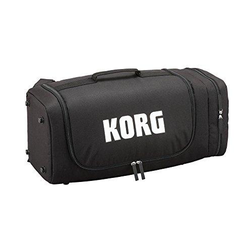 KORG KONNECT Softcase, Softcase für KORG KONNNECT PA-System, Transporttasche für KORG PA-System, Equipment-Rucksack mit Reißverschluss, schwarz