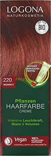 Logona Bio Pflanzenhaarfarbe Creme weinrot 220 (2 x 150 ml)