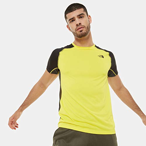The North Face Ambition S/S Hommes T-Shirt Jaune XL