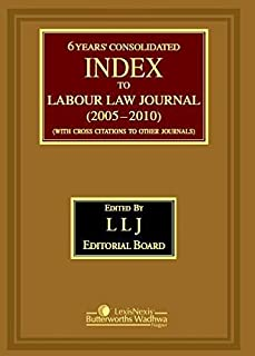 Index (With Cross Citations to Other Journals) To Labour Law Journal