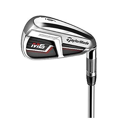 TaylorMade Golf M6 Iron Set, 5-PW, AW, Right Hand, Regular Flex Shaft: KBS Max 85