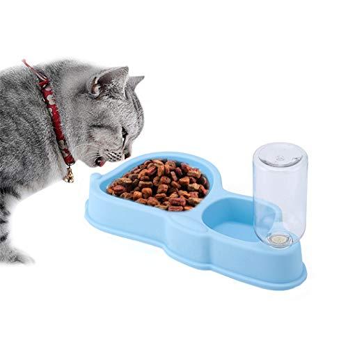 Joyibay Pet Bowl Antideslizante Anti Trago Alimentador Lento Bowl Pet Dispensador De Agua para Perro Gato
