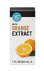 Amazon Brand - Happy Belly Pure Orange Extract, 1 fl oz