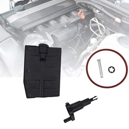 Intake Manifold Disa Valve Repair Kit Fit for 2001-2006 BMW E39 E46 E53 330i 530i M54 3.0L Air Intake Flap Adjuster Unit Valve Repair Kit 11617544805 11617502275 Auto Part Replacement Set - 1 Pack
