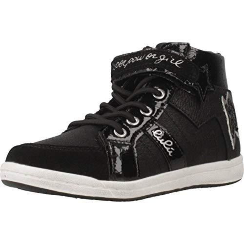 Botas para niña, Color Negro, Marca Lulu, Modelo Botas para Niña Lulu Stella Negro