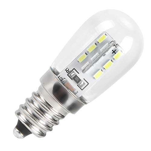 Natruss Bombilla de luz de 10 Piezas, Bombilla LED de Alto Brillo Resistente al Calor para Nevera, para gabinete, Restaurante, máquina de Coser, hogar