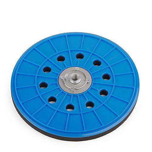 Klett Schleifteller 225 | Stützteller für Klett-Schleifpapier mit Lochung | Ø 225 mm | Für Langhalsschleifer, Bauschleifer und Schleifgiraffe