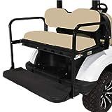 Mach3 EZGO TXT/Valor (96-Up) Golf Cart Rear Flip Seat Kit (Tan)