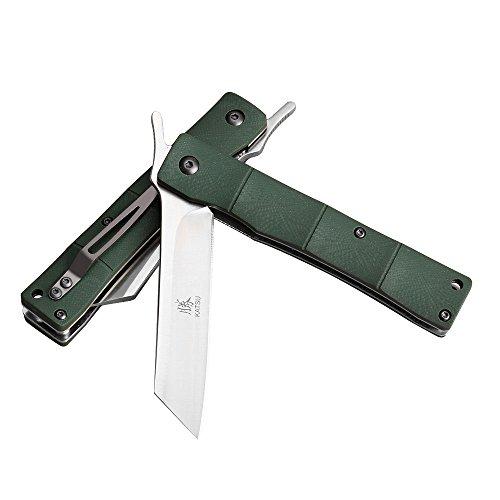 7-KATSU Handmade D2 Japanese Pocket Knife