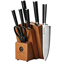 Ginsu Gourmet Chikara Series Forged 8-Piece Japanese Steel Knife Set (COK-KB-DS-008-3)