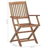 Zoom IMG-1 festnight set 4 pz sedie
