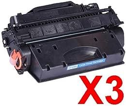 3 x Compatible HP CF226X Toner Cartridge 26X