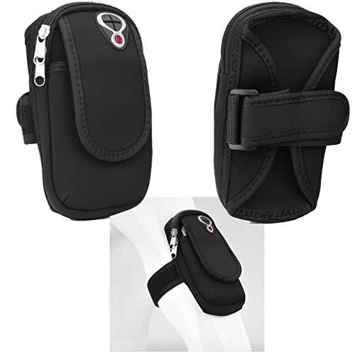 Supercase24 Sport Armband für Huawei Ascend G730-U10 Handy Hülle Tasche Schutzhülle Hülle Fitness Armtasche