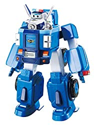 Paul's Deluxe Transforming Vehicle features in Season 2 of Super Wings. Paul is a policeman with a strong sense of duty. He's so enthusiastic that he acts like a policeman even when there's no policing to be done! Transform Paul's Deluxe Transforming...