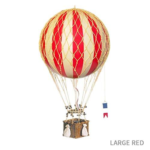 Globo aerostático color rojo (32cm)