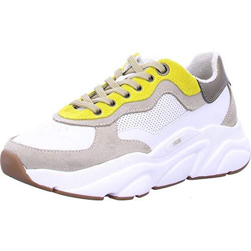 Hub Footwear Damen Sneakers Rock L66 - Off White Taupe, Größe:40 EU