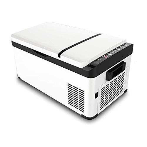 WEUROPESV Auto tragbarer Kühlschrank, 30 Liter Auto Kühlschrank Mini-Gefrierschrank, Camping, Antrieb, Picknick, Temperatur bis -20