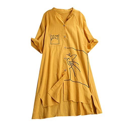TUDUZ Blusas Mujer Manga Corta Verano Camiseta Tallas
