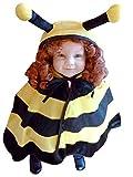 Bienen-Kostüm, AN72 Gr. 74-98, für Klein-Kinder, Babies, Bienen-Kostüme Biene Kinder-Kostüme Fasching Karneval, Kleinkinder-Karnevalskostüme, Kinder-Faschingskostüme, Geburtstags-Geschenk